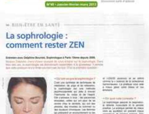 Revisión de Sophrology # 34 – Noticias de Sophrology